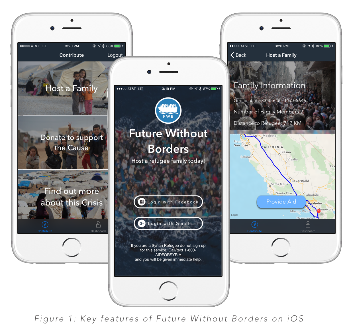 Future Without Borders Iphone mockup